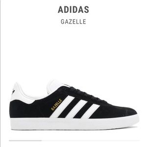 Adidas Gazelle - Black and white - great condition